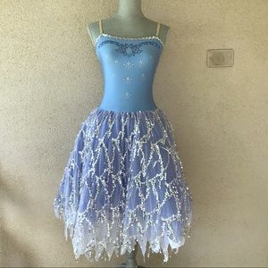Other - Girls Dress Up Play Ballerina Costume size 12/14